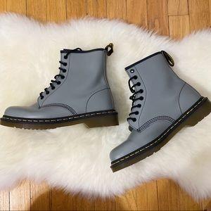 Grey 1460 Doc Marten Boots